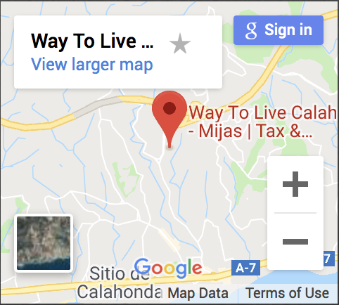 contacto way to live calahonda